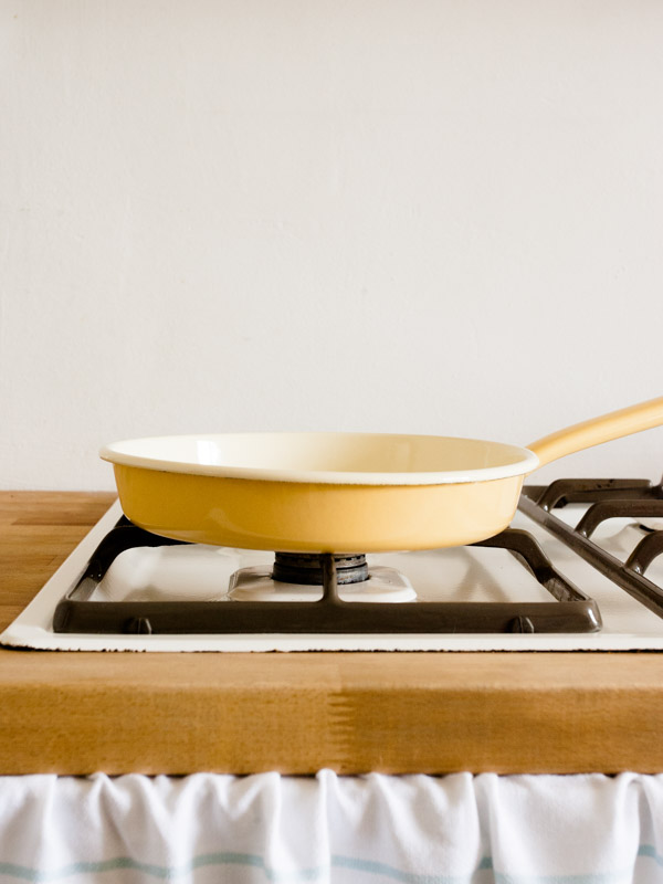 omelette pan golden yellow 22 cm (0291-6)