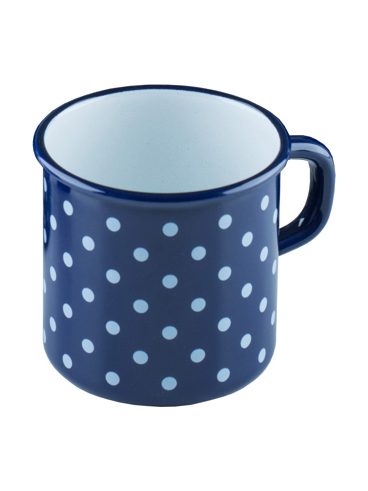 cup blue with dots (0221-75)